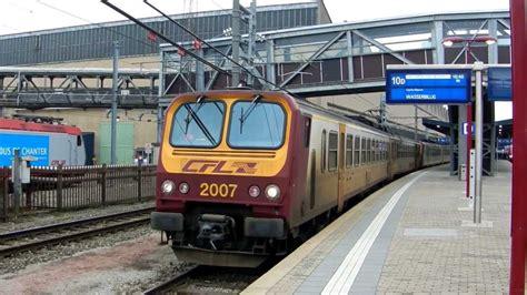 Cfl 2007 + 2003 Départ Gare De Luxembourg Ville