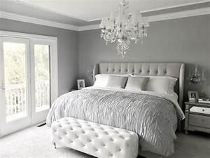 Grau Grün Wandfarbe : 1001 ideen f r schlafzimmer grau gestalten zum entlehnen ~ Frokenaadalensverden.com Haus und Dekorationen