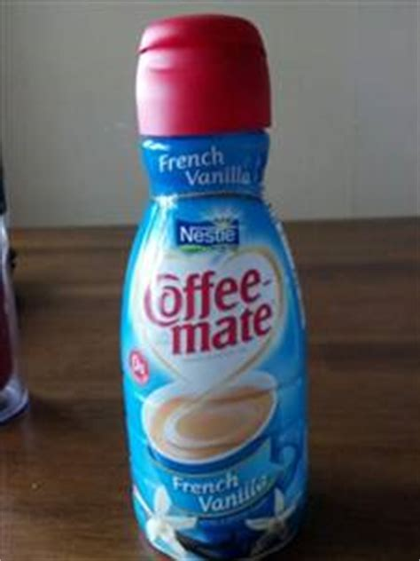 This sugar free coffee creamer contains 0 grams of sugar* per serving, and is also lactose free, gluten free and non dairy. Coffee-Mate French Vanilla Liquid Coffee Creamer - Photo