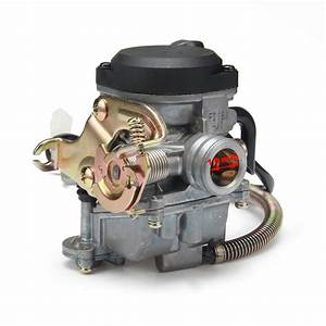 18mm Cvk Pd18j Carb Carburetor For Gy6 50cc Scooter 139qmb