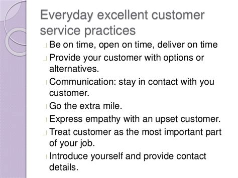 How Would You Describe Customer Service by Customer Service