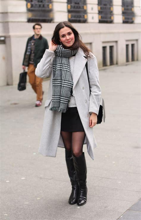 How to wear mini length in winter? | Dress like a parisian
