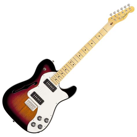 fender modern player telecaster thinline deluxe nearly new at gear4music
