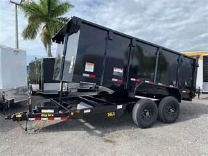 Big Tex 7x14 Dump Trailer 7 Ton 14lx