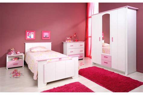 chambre à coucher fille chambre enfant fille complète blanche et