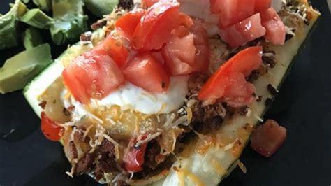 Stuffed Zucchini Boats Allrecipes by Taco Stuffed Zucchini Boats Recipe Allrecipes