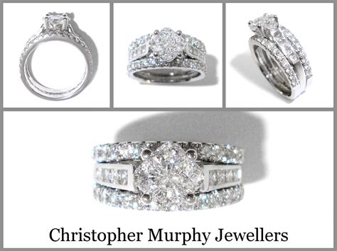 Double Wedding Rings  Christopher Murphy Jewellers. 2 Carat Eternity Band Platinum. Platinum Wedding Rings. Old School Wedding Rings. 15000 Dollar Engagement Rings. Paper Bands. Hand Wedding Rings. Lock Bangles. Locket Platinum