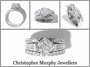 double wedding rings christopher murphy jewellers With double band wedding rings