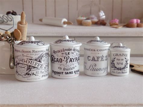 style kitchen canisters vintage style kitchen metal by twelvetimesmoreteeny