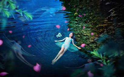 Fairy Fairies Wallpapers Backgrounds Animated Water 3d
