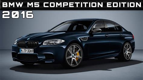 2016 Bmw M5 Competition Edition Review Rendered Price