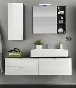 Badmöbel Set Ikea : badezimmer badm bel set beach 3 teilig wei hochglanz ~ Markanthonyermac.com Haus und Dekorationen