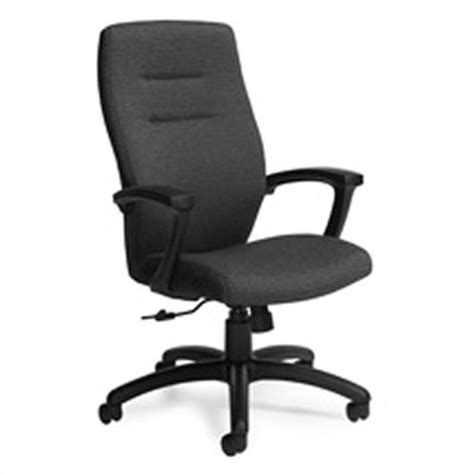 global synopsis high back tilter office chair in black