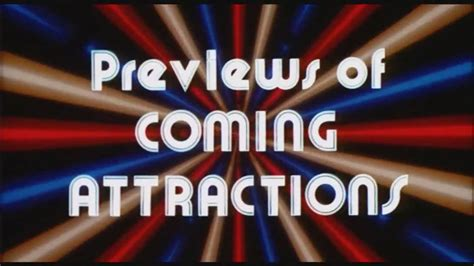 Previews of Coming Attractions - YouTube
