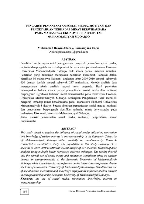 Vol 4 no 2 artikel 4 by JURNAL EKONOMI PENDIDIKAN DAN