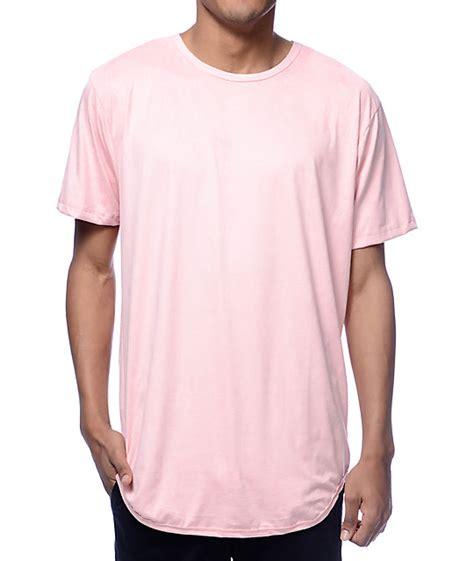 eptm suede pink long  shirt zumiez