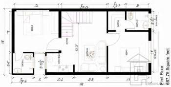 style house floor plans 3 marla house design gharplans pk