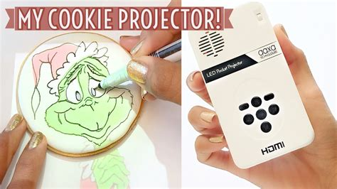 decorate cookies   projector youtube