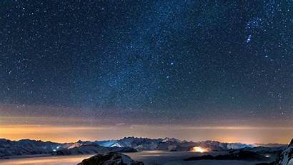 Sky Night Stars Wallpapers Starry Background Star