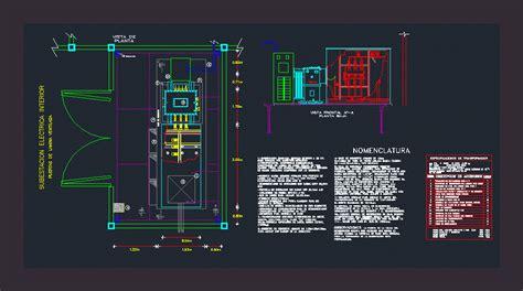 substation  dwg detail  autocad designs cad