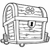 Treasure Chest Coloring Clipartmag sketch template