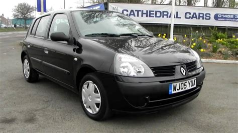 renault clio 2002 black renault clio 1 2 rush 5 door youtube