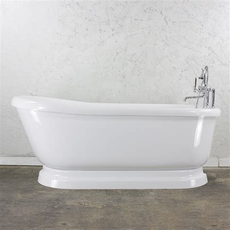 Jetted Tub by Jetted Pedestal Tub Freestanding Air Whirlpool Tub Free