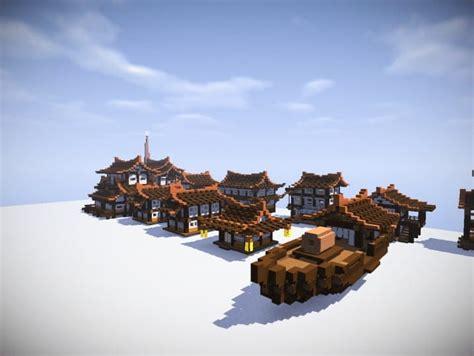 japan houses bundle minecraft building