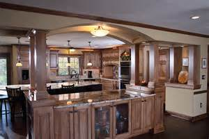 kitchen island with columns open shelves kitchen kitchen islands with columns and arches kitchens with columns for support