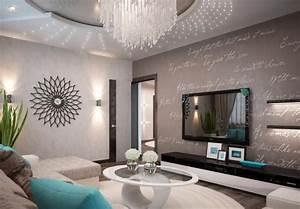 Wohnzimmer Gestalten Grau : wohnzimmer modern einrichten kalte oder warme t ne ~ Michelbontemps.com Haus und Dekorationen