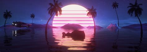 Update your youtube video banner and improve your online visibility. Vaporwave 3D Render Banner on Behance | Youtube banner ...