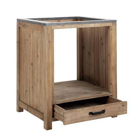meuble bas pour cuisine meuble bas de cuisine pour four en bois l 70 cm pagnol