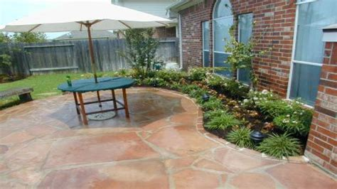 landscape design ideas around patio patio design