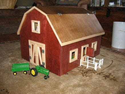 wooden toy barn plans woodworking projects plans