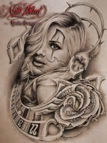 Art Lowrider Chicano Tattoo