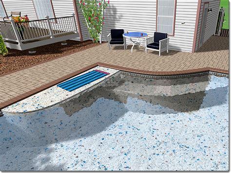 Adding A Pool Seat
