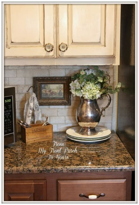 from my front porch to yours french farmhouse diy kitchen 65 best images about country kitchens on pinterest