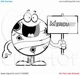 Mercury Planet Clipart Cartoon Coloring Sign Holding Roman Pages God Saturn Colouring Vector Cory Thoman Clipartpanda Outlined Terms Clipartmag Cliparts sketch template