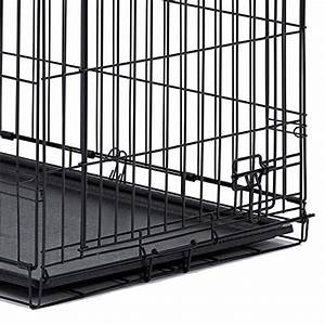midwest 36quot icrate folding metal dog crate w divider With 36 inch dog crate with divider