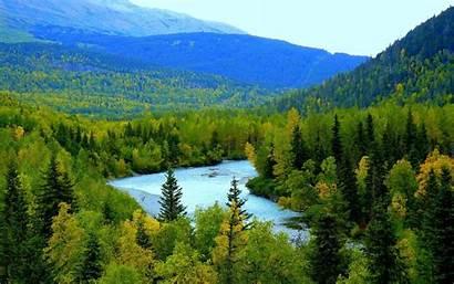 Alaska Spring Backgrounds Wallpapers Desktop Background Nature