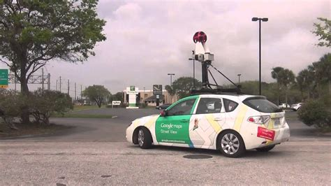 Google Earth Car Driving Right To Me