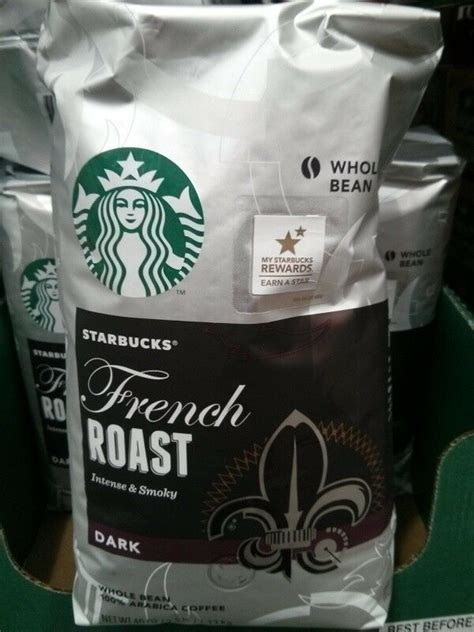 Pick up one of our rare coffees today to experience new flavors. 40oz Big Bag Starbucks French Roast Intense,Smoky Dark Whole Bean,Arabica Coffee   eBay