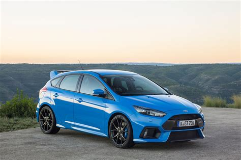 ford focus first 2016 ford focus rs sells for 550 000 at auction
