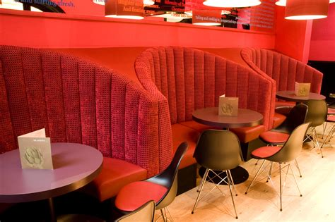 banquette seating fixed seating forest contract