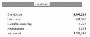 Kirchensteuer Berechnen Beispiel : gehaltsrechner beamte ermittelt sie ihre beamtenb ~ Themetempest.com Abrechnung