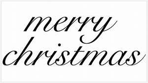 Vintage Merry Christmas Clipart | Clipart Panda - Free ...