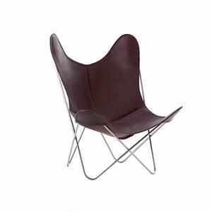 Housse de fauteuil aa butterfly en peau de vache par airborne for Tapis rouge avec housse de canapé imitation cuir