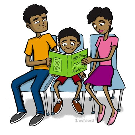 family reading together clipart family reading clip clipart panda free clipart images