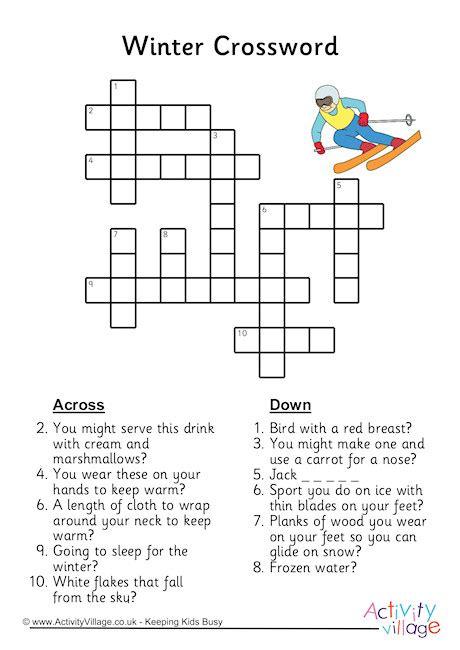 Fishing Float Crossword Puzzle Clue by Winter Crossword