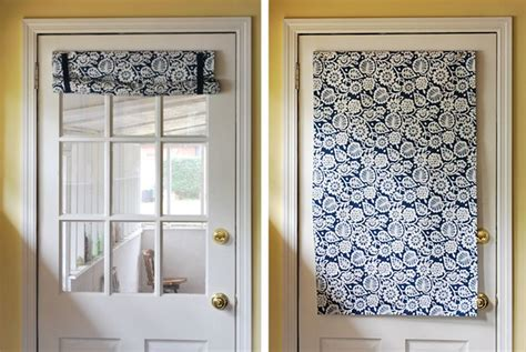 curtain for the back door decorating ideas